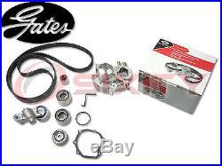 GATES 03-04 Subaru Impreza 2.0L H4 Timing Belt Water Pump Kit TCKWP OE hy