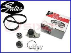 GATES 03-10 Chrysler PT Cruiser 2.4L L4 Timing Belt Water Pump Kit TCKWP OE rw