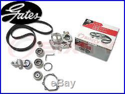 GATES 04-07 Subaru Impreza 2.0L 2.5L H4 DOHC Timing Belt Water Pump Kit zv