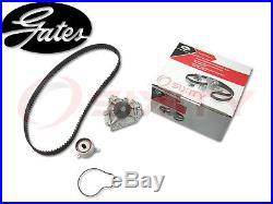 GATES 97-01 Honda CR-V 2.0L L4 Timing Belt Water Pump Kit TCKWP OE Engine eq