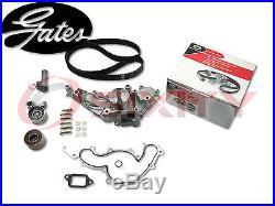 GATES TCKWP298 Timing Belt Water Pump Kit OE Engine Upgrade Tensioner Idler mu