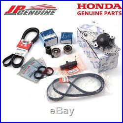 Genuine Honda Acura V6 Aisin Water Pump Koyo Tensioner Drive & Timing Belt Kit