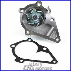 Gates HTD Timing Belt Kit V-Belt Water Pump for 2001-11 Hyundai Accent 1.6L