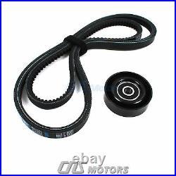Gates HTD Timing Belt Kit Water Pump V-Belt Tensioner Pulley for Hyundai Accent