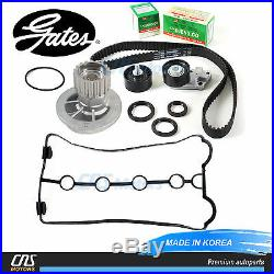 Gates HTD Timing Belt Kit Water Pump Valve Cover Gaskets 04-08 Chevy Aveo 1.6L