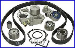 Gates Timing Belt Component Kit with Water Pump for Subaru 06-07 WRX & 04-10 STi