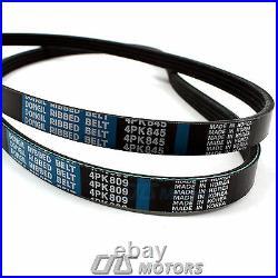 Gates Timing Belt Kit Water Pump V-Belt Belt Tensioner for 06-11 Kia Rio Rio5