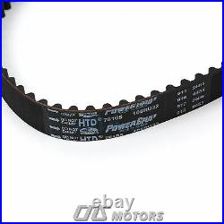 Gates Timing Belt Kit Water Pump Valve Cover Gaskets for 06-11 Hyundai Kia 1.6L