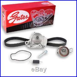 Gates Timing Belt Water Pump Kit for 2001-2005 Honda Civic 1.7L L4 Engine nm