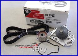 Gates Timing Belt Water Pump Tensioner Kit Honda B16 B16A B16A2 B16A3 Engines