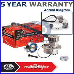 Gates Timing Cam Belt Water Pump Kit For Audi Ford Seat Skoda VW KP55569XS1