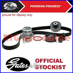Gates Timing Cam Belt Water Pump Kit For Nissan Qashqai 1.5 Diesel 2007