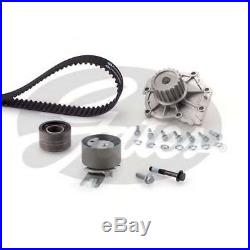 Gates Timing Cam Belt Water Pump Kit For Volvo Tensioner Pulley KP15580XS