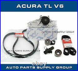 Genuine / Aisin Timing Belt & Water Pump Kit Acura TL V6 DEALER Parts 3.5 3.7
