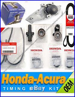 Genuine / Aisin Timing Belt & Water Pump Kit Honda/Acura V6 Factory Parts