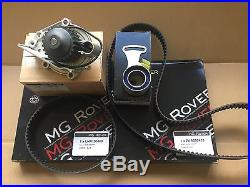Genuine Mg Rover 200 25 Mgf Mgtf VVC Timing Belt Kit + Water Pump 1.8 1800 Mg Tf
