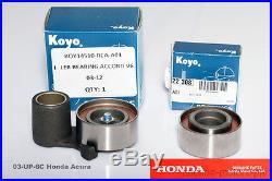 Genuine OEM Acura MDX Year 2007-2009 3.7L V6 Timing Belt Water Pump Kit 03-UP-6C