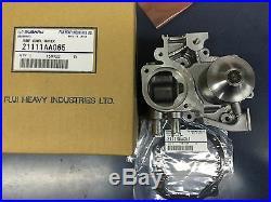 Genuine OEM Subaru HI-FLO Impeller Water Pump Kit Forester XT Impreza WRX EJ255