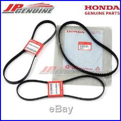 Genuine Oem 01-05 Honda CIVIC 1.7l Water Pump Ac Power Steering Timing Belt Kit