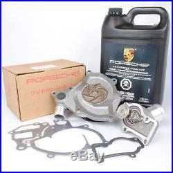 Genuine Porsche Water Pump Kit 986/996 With LOW TEMP Thermostat