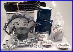 Genuine Timing Belt and Water Pump Kit with Genuine Seals Tensioner