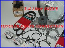 Genuine Toyota 95-04 Tacoma 3.4l V6 5vzfe Water Pump Timing Belt 17 Piece Kit