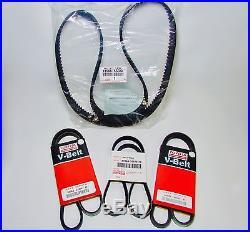 Genuine Toyota Tacoma 3.4l V6 5vzfe Water Pump Timing Belt Kit 15 Piece Kit