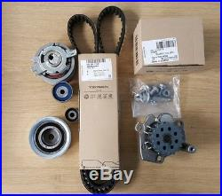 Genuine Volkswagen Audi Timing Belt Kit With Water Pump 03l198119f 03l121011p