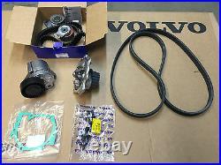 Genuine Volvo Complete Timing Belt Change Kit Aux Water Pump V70 S60 S80 Xc70