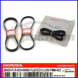 Honda Genuine Oem Water Pump Ac Power Steering Timing Belt Kit -01-05 CIVIC 1.7l