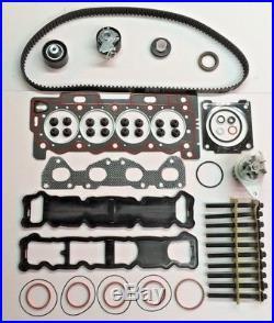 Head Gasket Set Bolts Timing Belt Kit Water Pump C3 C4 206 207 1.4 16v Et3j4 Kfu