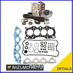 Head Gasket Set Timing Belt Kit Water Pump Fit 97-01 Honda CR-V DOHC B20B4 B20Z2