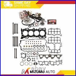 Head Gasket Set Timing Belt Kit Water Pump Fit Honda F22A1 F22A4 F22A6