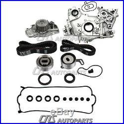 Honda 2.2 2.3 VTEC F22B1 F23A Timing Belt Water Oil Pump Valve Cover Gasket Kit
