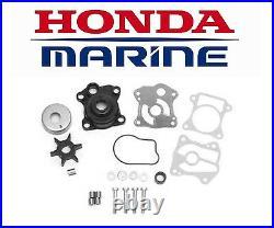 Honda 25/30hp (BF25A/BF25D/BF30A/BF30D) Outboard Water Pump Impeller Repair Kit