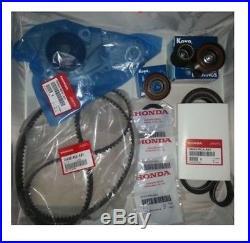 Honda / Acura Genuine Timing Belt Water Pump Kit with Tensioners