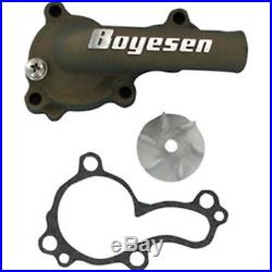 Kawasaki KX450F 20062015 Boyesen Supercooler Water Pump Cover Impeller Kit