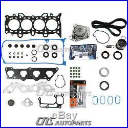 MLS Head Gasket Set Timing Belt Water Pump Kit For 01-05 1.7L Honda Civic DX LX