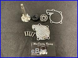 MacDaddy Racing Water Pump Rebuild Kit And Billet Cover, Yamaha Banshee 350