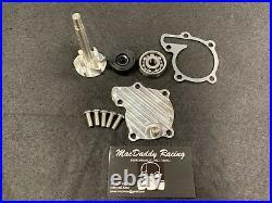 MacDaddy Racing Yamaha Banshee Water Pump Rebuild Kit with Billet Cover