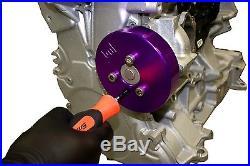 Massive UDP Under Drive Pulley Focus ZETEC 00-04 SVT 2pc Crank Water Pump Kit
