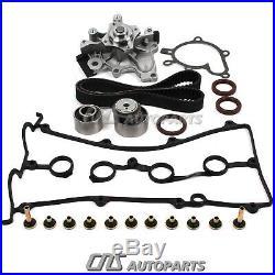 Mazda FS 2.0L DOHC Engine Timing Belt Kit Seal Water Pump Valve Cover Gasket Set