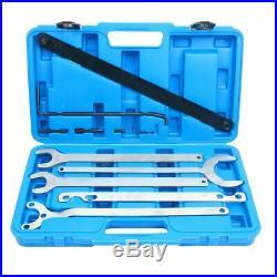 Mercedes Benz BMW Fan Clutch Water Pump Service Clutch Holder Wrench Tool Kit US