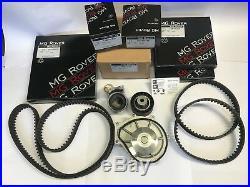 Mg Zt Rover 75 Timing Belt Kit With Genuine Water Pump 2.0 & 2.5 Kv6 Freelander