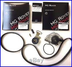 Mgtf / Mgf VVC 143 / 160 Cambelt / Timing Belt Kit Inc Water Pump Genuine Mg