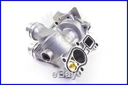 NEW VW Audi 2.0T TSI TFSI Upgraded OEM GRAF Aluminum Thermostat Water Pump Kit