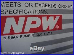 NPW Water Pump Kit for Subaru STi Impreza WRX Forester XT Alternate to OEM