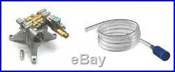 New 3100 PSI 2.5 GPM POWER PRESSURE WASHER WATER PUMP KIT 7/8 Shaft Brass Head