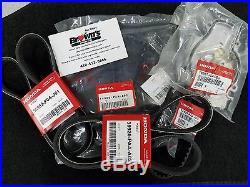 New Genuine Honda Acura 2.3l F23 Timing Belt Water Pump Drive Belt Kit