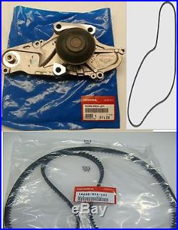 New Genuine Timing Belt & Water Pump Kit Honda Acura V6 Factory Parts
